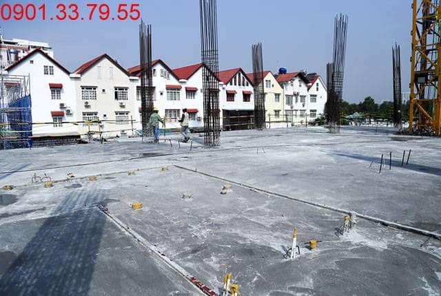 Hoàn thành đổ bê tông sàn tầng 2 - block Southern dự án Saigon Mia Trung Sơn