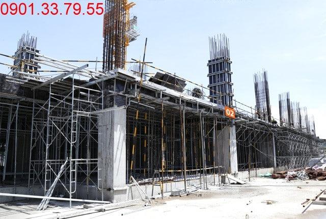 Thi công cốt thép sàn tầng 2 - block Northern căn hộ Sai gon Mia Trung Son