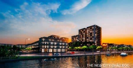 the new city chau doc khu do thi moi chau doc